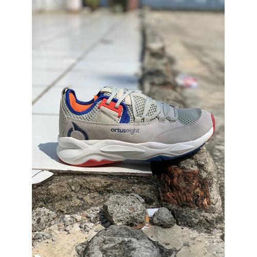 Foto Produk sepatu running ortuseight original new COLOSUS grey navy offwhite 2020 dari Kicosport