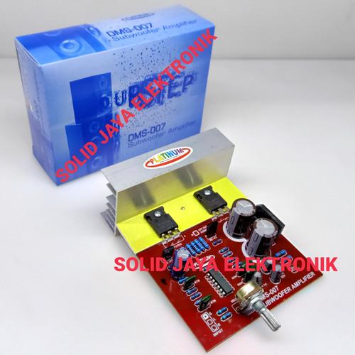 Foto Produk KIT POWER SUBWOOFER AMPILIFIER DUBSTEP DMS-077 DMS007 DMS 007 PLATINUM dari Solid Jaya Elektronik