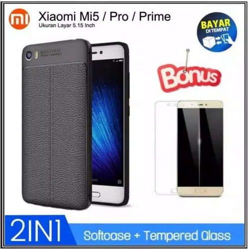 Foto Produk Xiaomi Mi5 SoftCase Matte / Doft Slim Casing Silicone Case Mi 5 Cover - Hitam dari RomanAcc