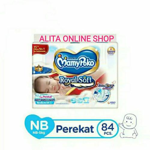 Foto Produk Mamypoko Extra Soft Extra Dry Tape NB84 Tipe Perekat NB 84 dari Alita Online Shop