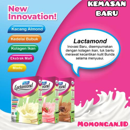 Foto Produk Grosir Lactamond ASI Booster 200gr Vanilla/Chocolate/Strawberry Almond dari Momongan ID