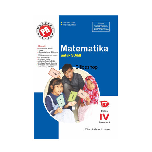 Foto Produk Buku PR Matematika SD kelas 4, 2020/2021 Intan Pariwara dari Ellice Shop
