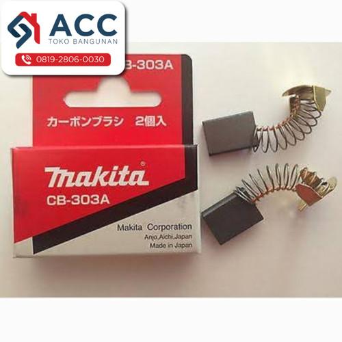 Foto Produk Carbon Brush MAKITA CB 303 A / Arang / Spul / Sepul / Bostel / Kul dari Toko Bangunan ACC