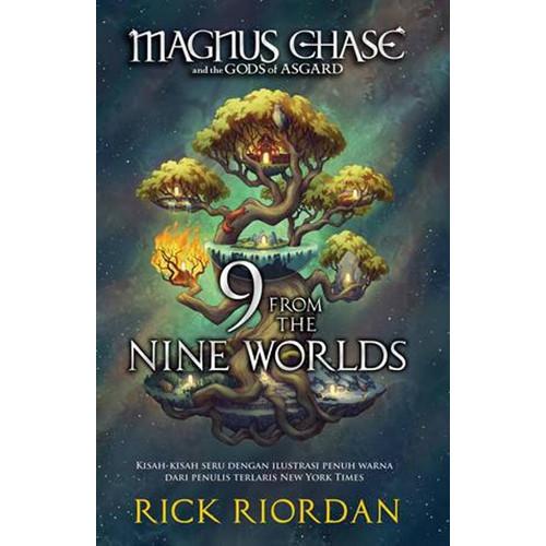 Foto Produk Magnus Chase And The Gods of Asgard #4: 9 From The Nine Worlds dari Mizanstore