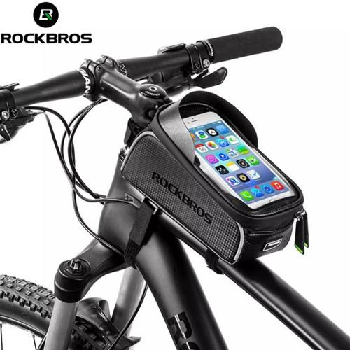 Foto Produk Tas sepeda layar sentuh rockbros waterproof dari Uwo Sports