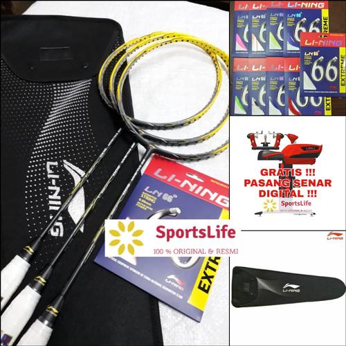 Foto Produk RAKET BADMINTON LINING 3D CALIBAR 300 ORIGINAL dari SportsLife.id