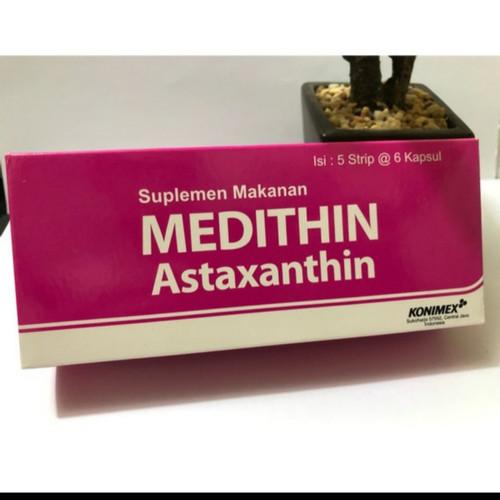 Foto Produk MEDITHIN (Astaxanthin) /antioksidan/vitamin kulit box isi 30 kapsul dari Putri Anyer shopp