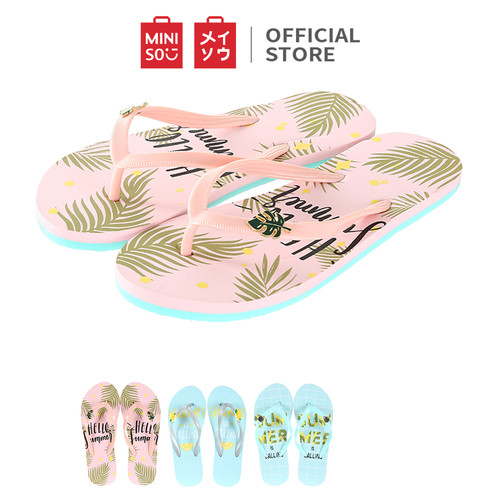 Foto Produk MINISO Women's Summer Flip Flops Sandal Jepit Musim Panas Putri S - Random dari Miniso Indonesia