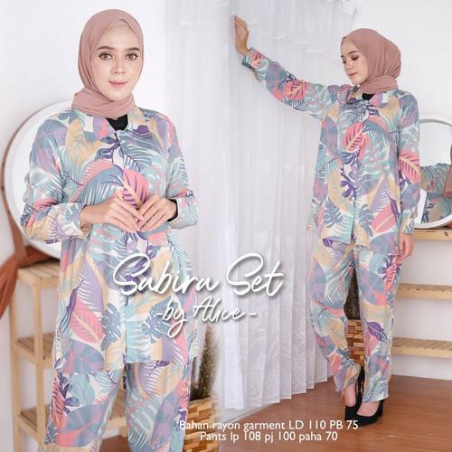 Foto Produk Setelan wanita muslimah terbaru katun rayon viscose murah dari Chessyfahsion