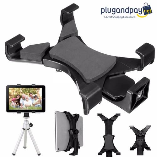 Foto Produk Tablet Holder Mount 1/4 Screw Bracket Tripod - plugandpay dari plugandpay