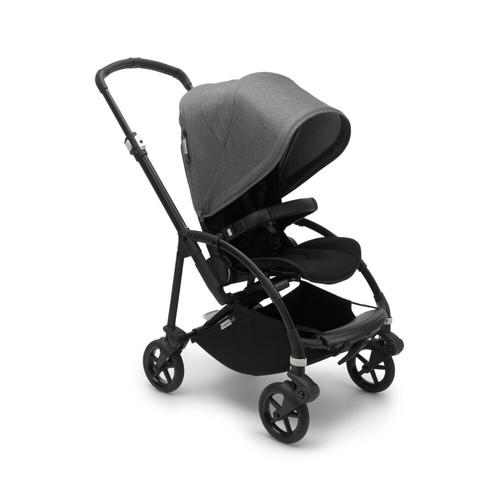 Foto Produk Bugaboo Bee 6 Complete Stroller Black - Grey melange dari Bugaboo Official Store