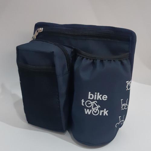 Foto Produk Tas Sepeda Handle / tas selempang - Biru dari Reejust