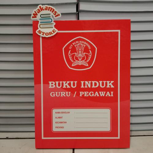 Foto Produk BUKU INDUK GURU/PEGAWAI (Paking Bubble Wrap) dari Wakamsi_Store