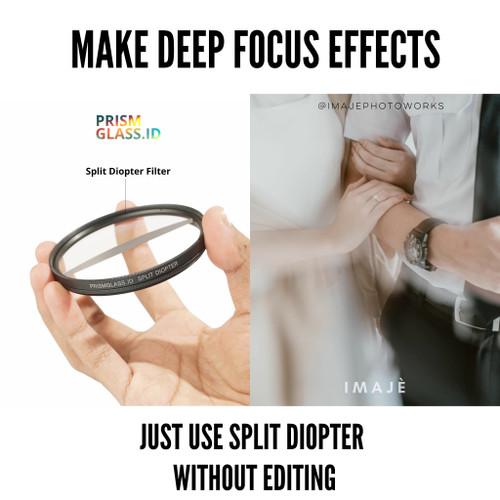 Foto Produk kaca prisma split diopter filter (deep focus) dari prismglass_ID