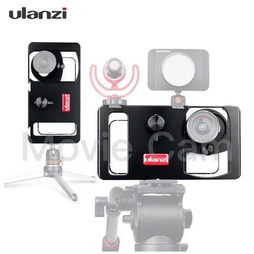 Foto Produk Ulanzi U-Rig Metal Smartphone Video Rig dari Movie Cam