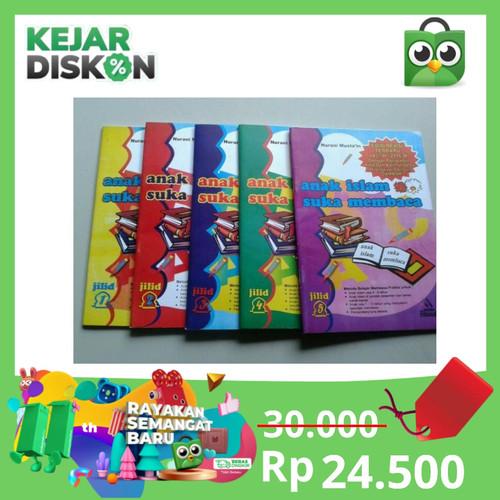 Foto Produk Buku Anak Islam Suka Membaca 1set (5buku) dari AD_Bookstore