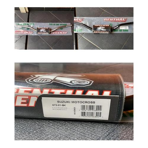 Foto Produk STANG RENTHAL FATBAR 672 ORIGINAL MADE IN UK CRF KLX DTRACKER WR dari bandungextremegear