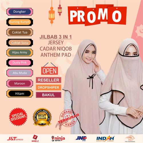 Foto Produk KERUDUNG 3 IN 1 CADAR JERSEY JUMBO HIJAB 3 IN 1 JILBAB INSTAN 3 IN1 - 3IN1 LIST DPINK dari barokah_hijab99