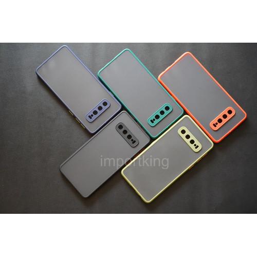 Foto Produk Samsung S10 Frosted camera protection - Hitam dari importking