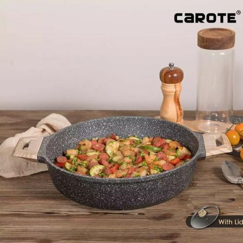 Foto Produk Carote Shallow Pot Pan With Lid 28 Cm dari MCI-BioGlass