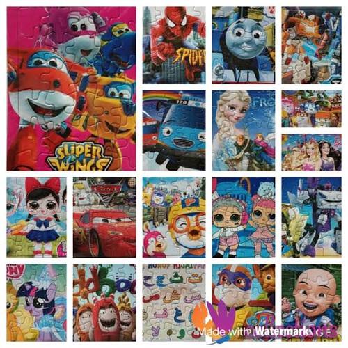Foto Produk puzzle kecil karakter untuk anak 3 tahun keatas dari ayomandiri