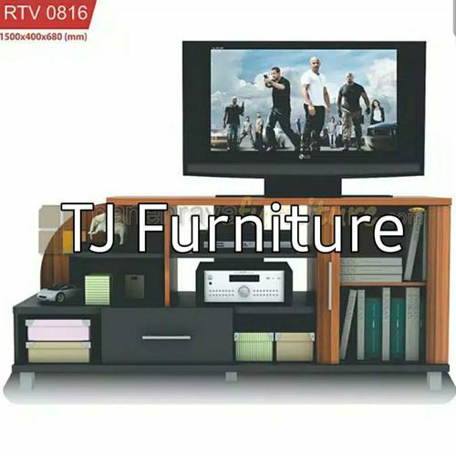 Jual Rak Tv Meja Tv Cabinet Tv Bufet Tv Minimalis Romaro Rtv 0816 Murah Italian Walnut Kota Sukabumi Tj Furniture Tokopedia