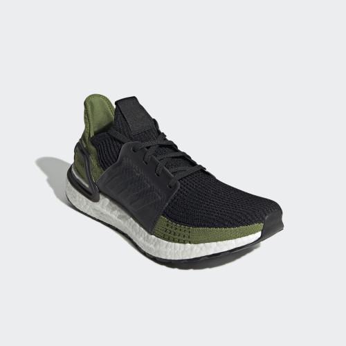 Foto Produk ADIDAS ULTRABOOST 19 - CORE BLACK/TECH OLIVE - 8.5 dari Nelsons Footwear
