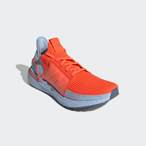 Foto Produk ADIDAS ULTRABOOST 19 - SOLAR RED/GLOW BLUE - 8.5 dari Nelsons Footwear