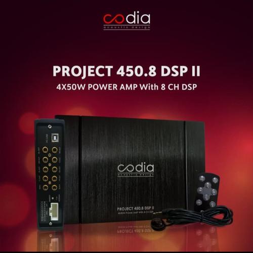 Foto Produk Codia DSP Amps 450.8 Prosesor Audio Mobil built in Amplifier dari shop of alena