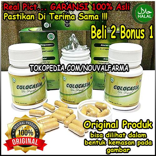 Foto Produk Colocasia Asli Herbal Original Obat Nyeri Sendi & Tulang Resmi BPOM dari NouvalFarma