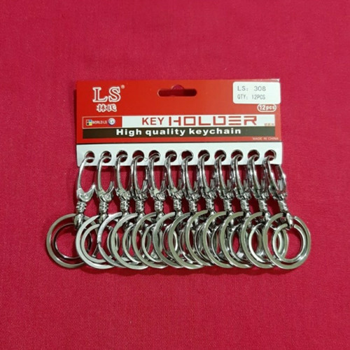 Foto Produk GANTUNGAN KUNCI STAINLIS RING 2 dari slamet_tools