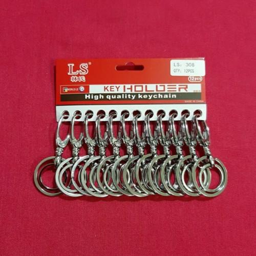 Foto Produk GANTUNGAN KUNCI STAINLIS RING 2 dari ismailtools