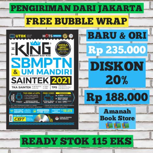 Foto Produk The King Bedah Kisi-kisi SBMPTN & UM Mandiri Saintek 2021 - JAKARTA dari Amanah Book Store