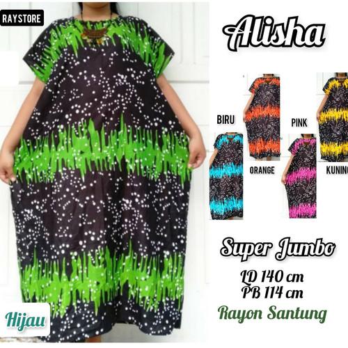 Foto Produk Daster Super Jumbo Wanita /Baju Tidur Busui Premium Rayon dari RayStore