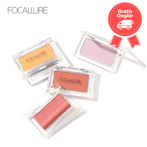 Foto Produk FOCALLURE Blush Makeup Face Blusher Cosmetic Pressed Powder FA77 - FA77-01 dari beauty entity