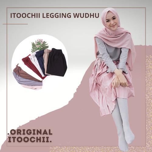 Foto Produk celana legging wudhu bahan adem dari itoochii olshop