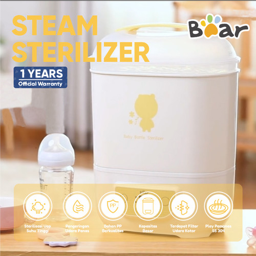 Foto Produk Sterilizer Steam with Dryer - Bear XDG-A06B1 dari Paninti Hub