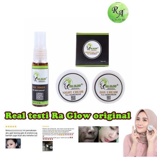 Foto Produk Ra glow paket penglupasan ready dari agen_kosmetikmurah