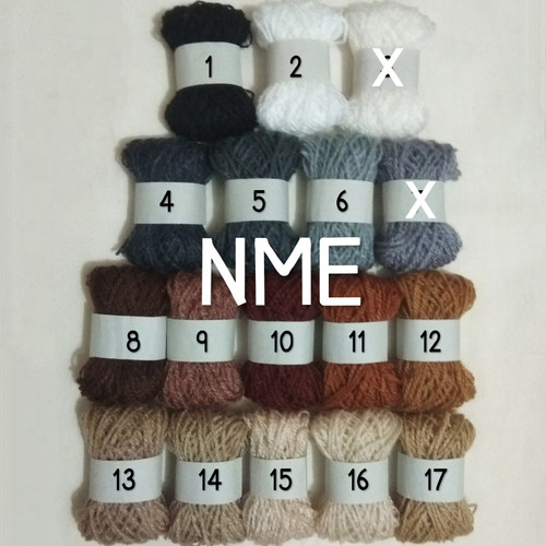 Foto Produk [1 pc] Benang Siet / Benang Wol (Warna: Hitam - Cokelat) dari NIKKEI METTA ELYANNI