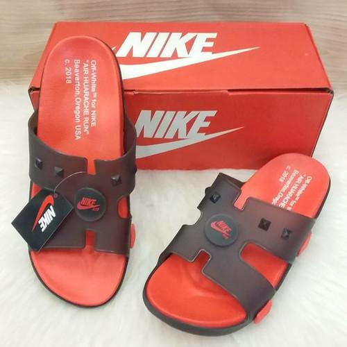 Sandal Nike Huarache Red Black Terlaris