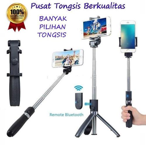 Foto Produk Tongsis Bluetooth With Remote Mini Tongsis and Tripod Mini Expandable dari daffin