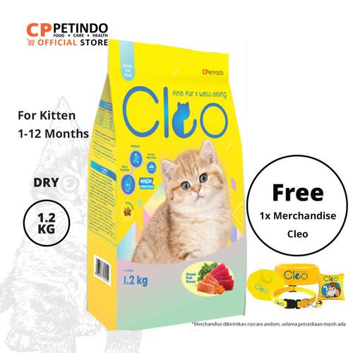Foto Produk CPPETINDO Cleo Ocean Fish Kitten Food - 1,2kg dari CPPETINDO