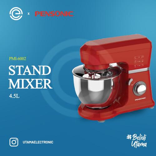 Foto Produk PENSONIC Standing Mixer Grande 4.5L PMI-6002 - Merah dari UTAMA_ELECTRONIC