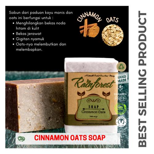 Foto Produk Cinnamon Oats soap dari Green Mommy Shop