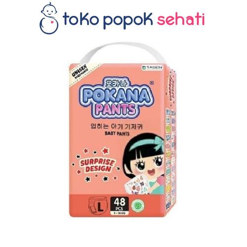Foto Produk POKANA Baby Pants @Tokopopoksehati - Popok Celana L48 / L 48 dari TOKO POPOK SEHATI