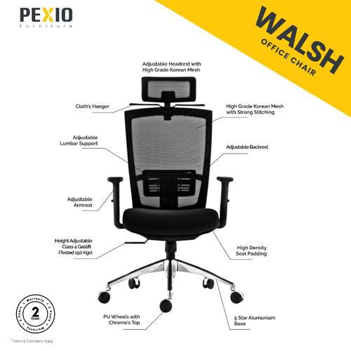 Foto Produk Kursi kantor jaring PEX | Office Chair PEX | Walsh dari PEXIO Furniture