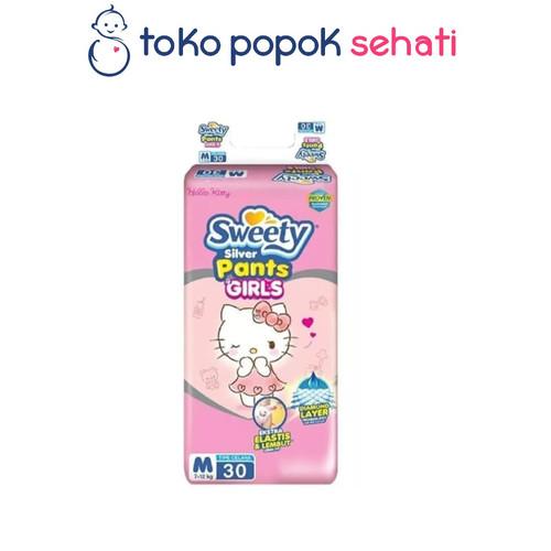Foto Produk Sweety Silver Pants M30 L28 XL26 XXL24 Boys Girls celana L 28 XL 26 - GIRL M30 dari TOKO POPOK SEHATI