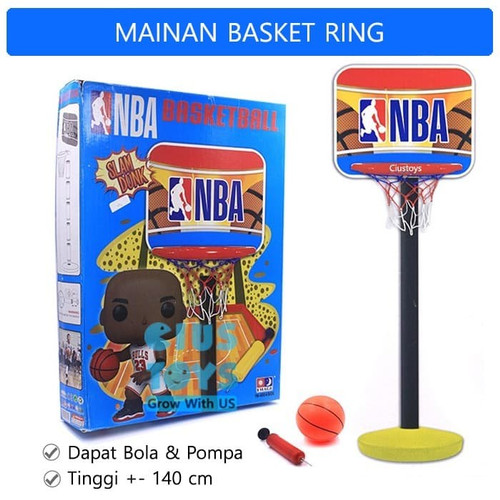 Foto Produk Ring Basket Mainan Anak Justice League Basketball Olahraga dari Lumi Toys
