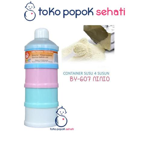 Foto Produk Tempat Susu NINIO Bubuk Travel Bayi / Milk Powder 4 Susun Container dari TOKO POPOK SEHATI