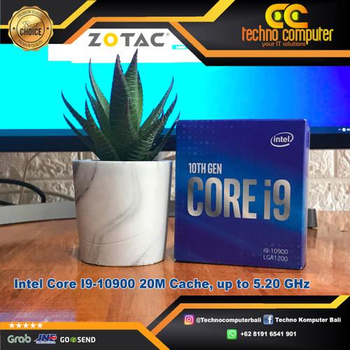 Foto Produk Processor Intel Core I9-10900 20M Cache, up to 5.20 GHz dari Techno Computer Bali